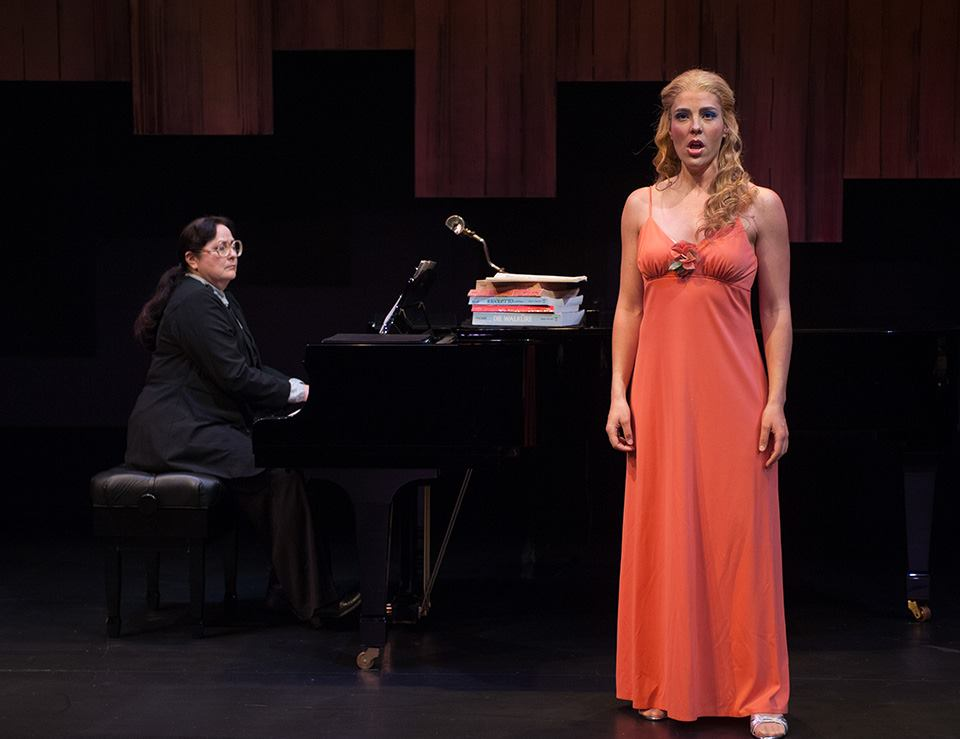 Sharon Graham in Terrance McNally's Master Class at The Jewel Theater