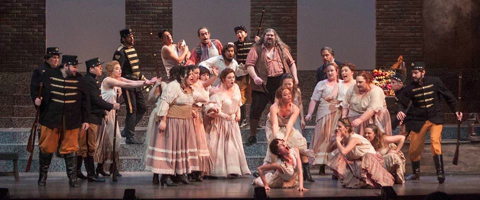 Fight Captain and performer in Carmen with San Jose Opera